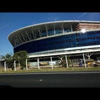Photo taken at Construção da Arena do Grêmio by Luiz L. on 11/26/2012