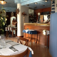 Photo taken at Ristorante Danubio by Rossella M. on 10/7/2012