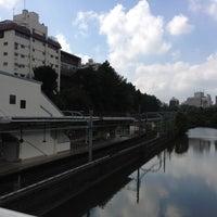 Photo taken at Ichigaya Station by Manabu I. on 10/2/2012