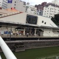 Photo taken at Ichigaya Station by Manabu I. on 10/3/2012
