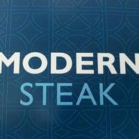 Photo taken at Modern Steak by PinkMohawk C. on 5/7/2013