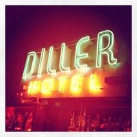 Diller Room Happy Hour Menu