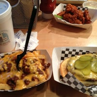 Photo taken at Bucu Burger Bar & Bakery by Dawn B. on 3/29/2013