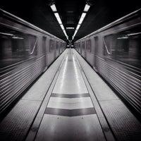 Photo taken at Pershing Square Metro Station by Rolando Deeohz M. on 3/3/2013