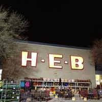 Photo taken at H-E-B by John S. on 3/7/2013