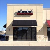 Photo taken at Tarka Indian Kitchen by John S. on 2/27/2014