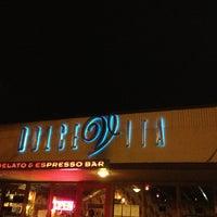 Photo taken at Dolce Vita Gelato & Espresso by John S. on 3/14/2013
