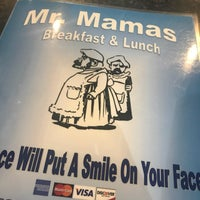Foto tomada en Mr. Mamas Breakfast and Lunch  por Steven D. el 7/5/2017