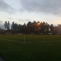 Photo taken at Puotilan urheilukenttä by Sami S. on 4/26/2013