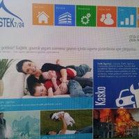 Photo taken at Destek 7/24 Sigorta by Gökhan E. on 4/21/2015