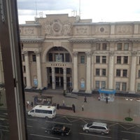 Photo taken at Гостиница «Минск» / Minsk Hotel by Kirill A. on 9/21/2013