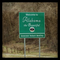 Photo taken at Alabama/Tennessee State Line by Becka on 2/25/2013