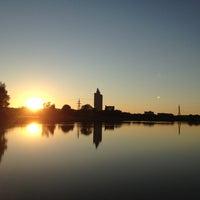 Photo taken at Anne kanali ja Emajõe vaheline ala by Diana F. on 8/25/2013