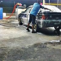 Photo taken at car wash ghbt by Dedi G. on 3/5/2014