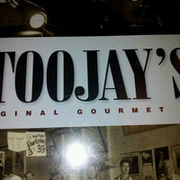 Photo taken at TooJay's Gourmet Deli by Micha P. on 10/16/2011