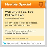 Photo taken at Turo-Turo Philippine Café by AorPG R. on 9/25/2012