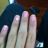 Photo taken at Happy Nails by Jessica D. on 2/6/2013
