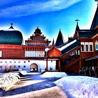 Photo taken at Wooden Palace of Tzar Alexis of Russia by Vickywiki on 3/12/2013