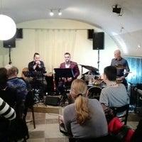 Photo taken at Kozmosz Vegán Étterem by Ákos H. on 2/12/2016