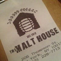 Photo taken at The Malt House by Jamie T. on 1/5/2013