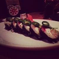 Photo taken at Sushi Zushi by Amanda G. on 10/8/2012