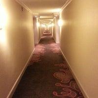 Photo taken at Hilton Atlanta Airport by Alice J. on 7/26/2013