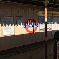 Photo taken at Latimer Road London Underground Station by Gordon C. on 2/16/2016