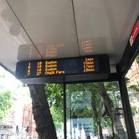 Photo taken at Marylebone Station Bus Stop P by Gordon C. on 7/10/2017