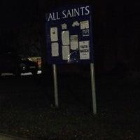 Photo taken at All Saints Church by Gordon C. on 2/11/2018
