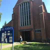 Photo taken at All Saints Church by Gordon C. on 6/18/2017