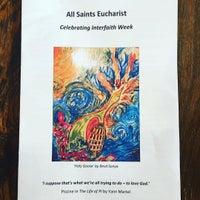Photo taken at All Saints Church by Gordon C. on 11/15/2015
