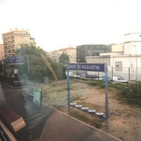 Photo taken at Gare SNCF de Nice Saint-Augustin by Gordon C. on 6/7/2017