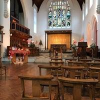 Photo taken at All Saints Church by Gordon C. on 12/25/2016