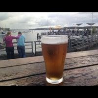 Photo taken at Manly Wharf Bar by Brett R. on 4/6/2013