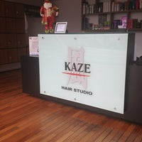 Photo taken at Kaze Hair Studio by Celina N. on 12/19/2012