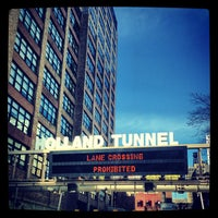 Photo taken at Holland Tunnel by Jesse W. on 4/14/2013
