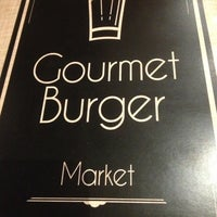 Photo taken at Gourmet Burger Market by Leonardo M. on 3/16/2013