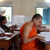 Photo taken at Wat Moha Montrei by JiNa K. on 9/11/2013