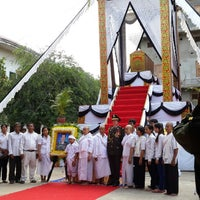 Photo taken at Wat Moha Montrei by JiNa K. on 9/13/2013