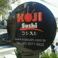 Photo taken at Koji Sushi by Léo M. on 9/30/2012