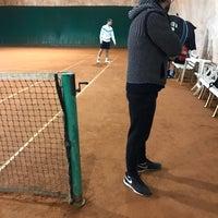 Photo taken at Tennis Dei Pini by Stefano L. on 12/18/2016