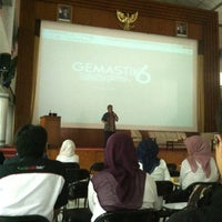 Photo taken at Gedung Serba Guna (GSG) by Riyan P. on 6/17/2013