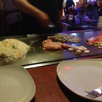 Photo taken at Ginza Japanese Steak House by E.Nicole G. on 2/14/2014