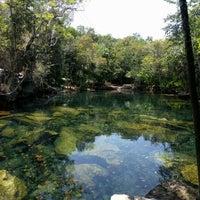 Photo taken at Cenote Chikin Ha by Karina C. on 5/20/2016