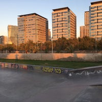 Foto tomada en Skatepark del Forum por Adam S. el 9/5/2017