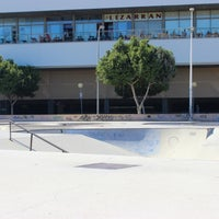 Photo taken at Skate Park Fuengirola by Adam S. on 10/15/2013