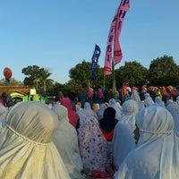 Photo taken at Lapangan Bonyokan by Ninda S. on 8/7/2013