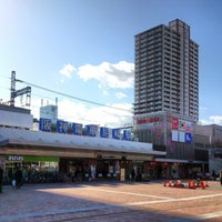 Photo taken at Hanshin Amagasaki Station (HS09) by Izumi T. on 1/25/2013
