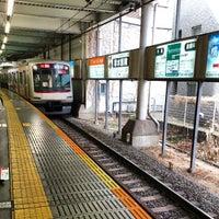Photo taken at Tokyu Kikuna Station by Izumi T. on 3/18/2013