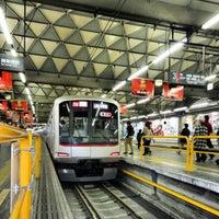 Photo taken at Toyoko Line Shibuya Station (TY01) by Izumi T. on 3/9/2013